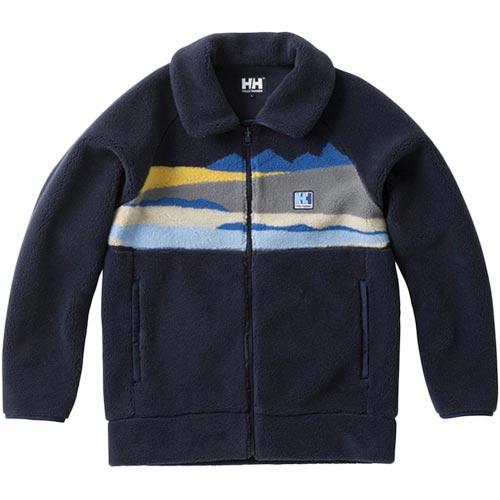 ヘリーハンセン HELLY HANSEN レディース MTファイバーパイル ジャケット MT FIBERPILE Jacket ネイビー HE51865 N