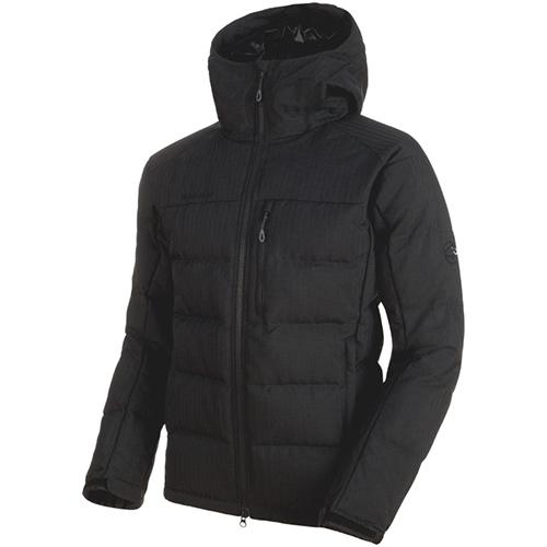 マムート MAMMUT メンズ アウター セラックインシュレーションフーデッドジャケット ブラック 1013-00680 0001