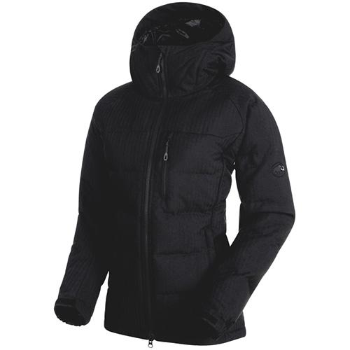 マムート MAMMUT レディース アウター セラックインシュレーションフーデッドジャケット ブラック 1013-00690 0001