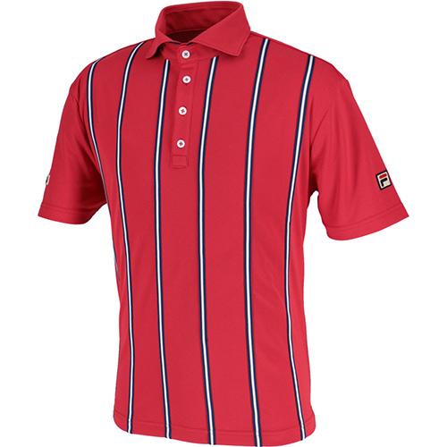 驚きの値段 フィラ FILA メンズ テニス ポロシャツ フィラレッド VM5382 11, ペットグッズストアNONKORO-LIFE d63a94ef