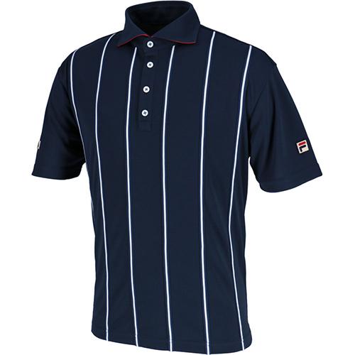 【在庫限り】 フィラ FILA メンズ テニス ポロシャツ フィラネイビー VM5382 20, サムラインショップ 826fffc3