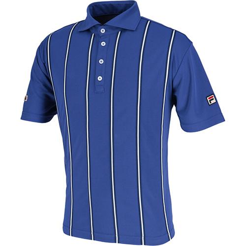 【2019春夏新色】 フィラ FILA メンズ テニス ポロシャツ Dウルトラマリン VM5382 29, gym master on-line shop 3fcec32c
