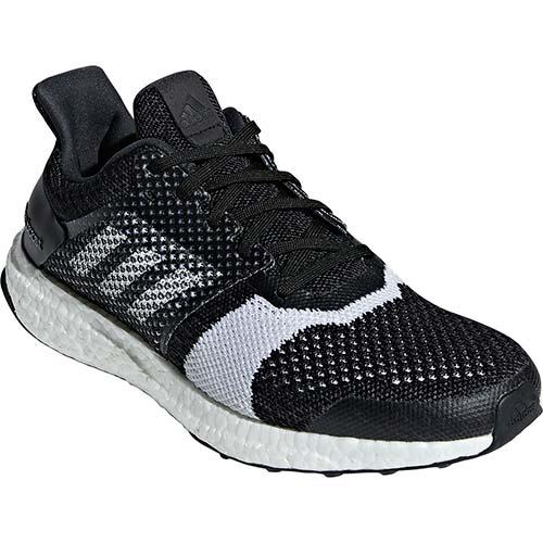 アディダス adidas メンズ ランニングシューズ ウルトラブースト UltraBOOST ST m コアブラック/ホワイト/カーボン BBA52 B37694