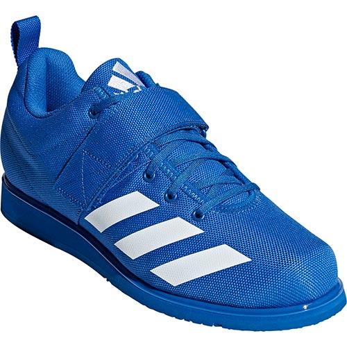 アディダス adidas メンズ レディース ウエイトリフティングシューズ Powerlift4 ブルー/ランニングホワイト/ブルー BTI25 BC0345