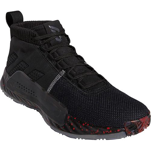 アディダス adidas メンズ バスケットボールシューズ Dame5 コアブラック/グレースリー/グレーフォア BTF05 BB9316