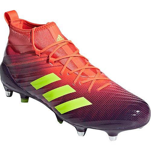 アディダス adidas メンズ ラグビーシューズ プレデター フレア SG レジェンドパープル/ハイレゾイエロー/トゥルーオレンジ BTF33 BB7965