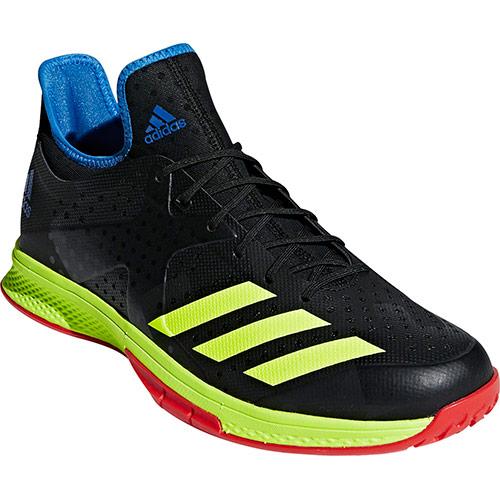 アディダス adidas メンズ ハンドボールシューズ Counterblast Bounce コアブラック/ハイレゾイエロー/トゥルーブルー EFQ61 BD7408