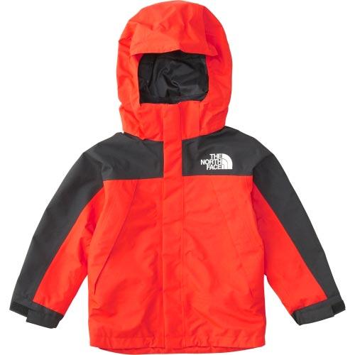 ノースフェイス THE NORTH FACE キッズ アウター マウンテンジャケット Mountain Jacket ファイアリーレッド NPJ61805 FR 男児 女児