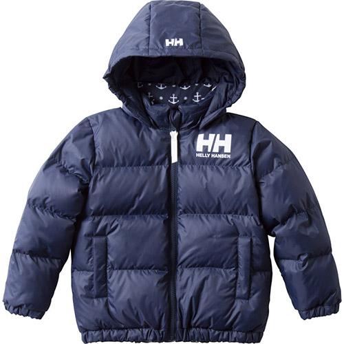 ヘリーハンセン HELLY HANSEN キッズ アウター リバーシブル ダウン ジャケット Reversible Down Jacket ヘリーブルー HJ11853 ジュニア 男の子 女の子