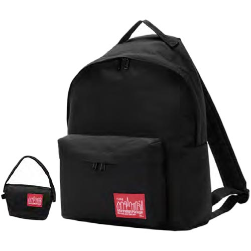 マンハッタンポーテージ Manhattan Portage ビッグ アップル バックパック Big Apple Backpack ブラック MP1210-35TH