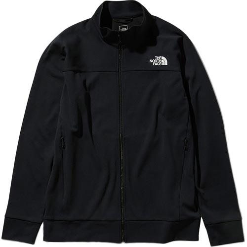ノースフェイス THE NORTH FACE メンズ エニータイムジャージージャケット Anytime Jersey Jacket ブラック NT11998 K