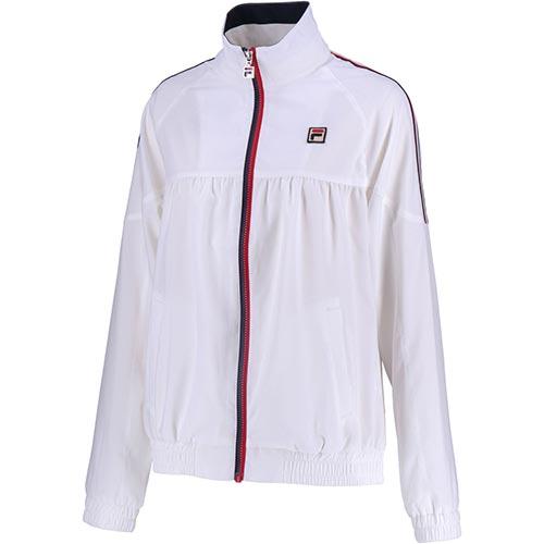 フィラ FILA レディース テニス ウインドアップジャケット ホワイト VL1910 01