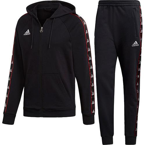 アディダス adidas メンズ サッカーウェア TANGO STREET スウェット ジャケット+パンツ ブラック FRW16 DP2721/FRW17 DP2722