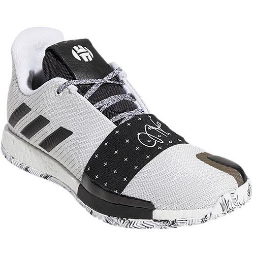 アディダス adidas メンズ バスケットボールシューズ ハーデン Harden Vol.3 ホワイト AQQ47 AQ0035