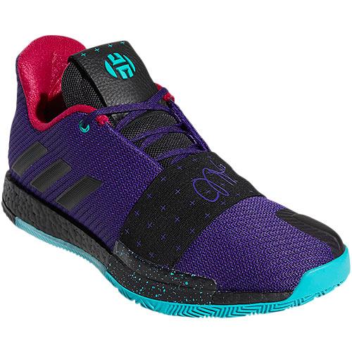 アディダス adidas メンズ バスケットボールシューズ ハーデン Harden Vol.3 カレッジパープル BBI73 B42005