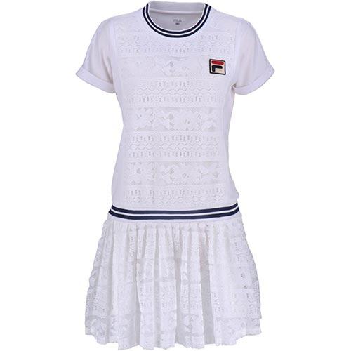 フィラ FILA レディース テニスウェア ワンピース ホワイト VL1929 01