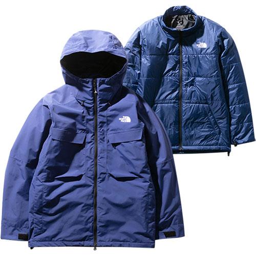 ノースフェイス THE NORTH FACE メンズ フォーバレルトリクライメイトジャケット Fourbarrel Triclimate Jacket フラッグブルー NS61904 FG