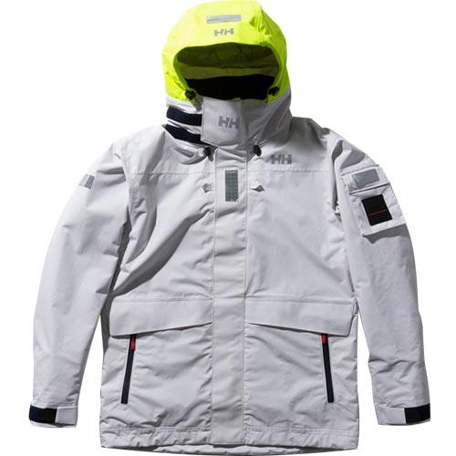 ヘリーハンセン HELLY HANSEN ジャケット メンズ レディース セーリングウェア オーシャンフレイ OCEAN FREY JACKET ホワイト HH11990 W