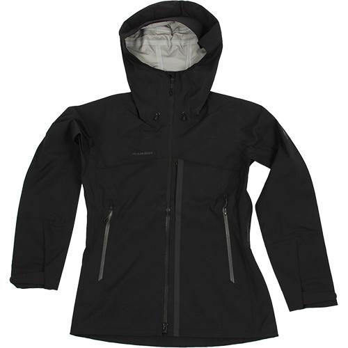 MAMMUT マムート レディース マサオ HS フーディ ジャケット Masao HS Hooded Jacket Women ブラック 1010-26510 0001