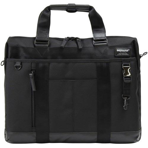 バーマス BERMAS ビジネスバッグ バウアーIII 1層ブリーフ ブラック 6007110