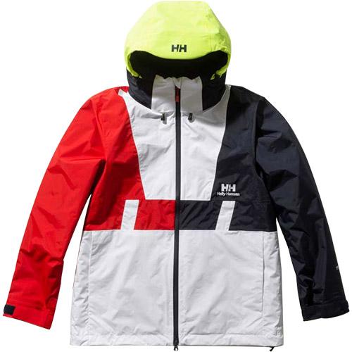 ヘリーハンセン HELLY HANSEN ジャケット メンズ フォーミュラーバーティカル Formula Vertical Jacket ホワイト HH11961 W