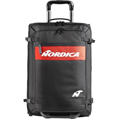 在庫限り お得 スキーバッグ キャスター付き 旅行 トラベル お買得 鞄 受注生産品 ノルディカ NORDICA TROLLEY ブラック 100 トロリー 0N304600 スキー ビジネス BUSINESS