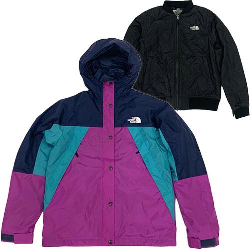 ノースフェイス THE NORTH FACE レディース トリプルエックストリクライメイトジャケット XXX Triclimate Jacket アーバンネイビー×ピンク×グリーン NPW21730 UN