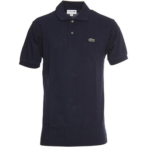 ラコステ LACOSTE メンズ 半袖 ポロシャツ ネイビー L1212AL 166