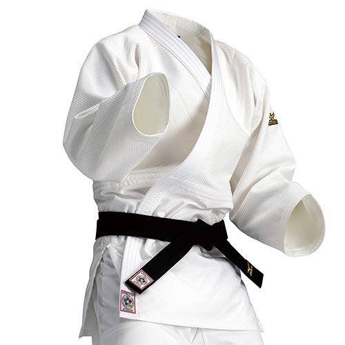 ミズノ MIZUNO 全柔連・IJF新規格基準モデル柔道衣 上衣 優勝 22JM5A1501