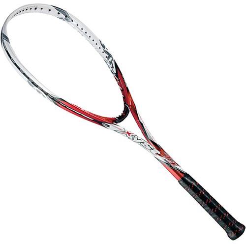 ミズノ MIZUNO ソフトテニスラケット XYST T1 レッド×ホワイト 63JTN52162 1U