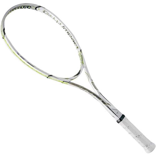ミズノ MIZUNO ソフトテニスラケット ディープインパクト Zフォワード 0U ホワイト 63JTN68001