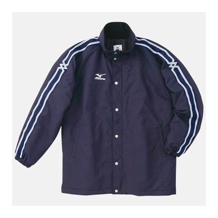 ミズノ MIZUNO 中綿ウォーマーキルトシャツ A60JF96114 ネイビー