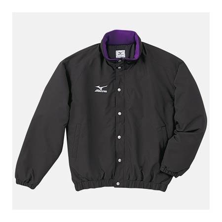 ミズノ MIZUNO 中綿ウォーマーキルトシャツ A60JF96288 ブラック
