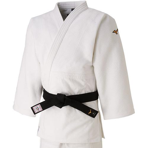 ミズノ MIZUNO 柔道 上衣 全柔連・IJF新規格基準モデル 柔道衣 B体 ホワイト 22JA8A0101 B メンズ レディース