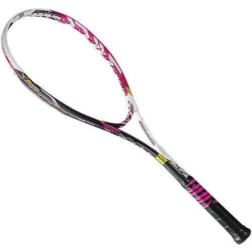 ミズノ MIZUNO ソフトテニスラケット ジスト XYST T-05 ソリッドマゼンタ 63JTN63564