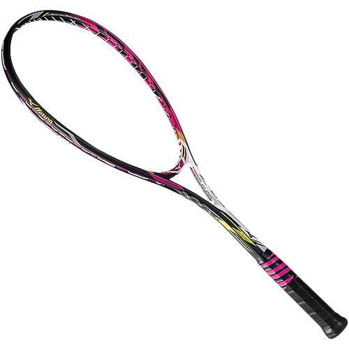 ミズノ MIZUNO ソフトテニスラケット ジスト XYST Z-05 ソリッドマゼンタ 63JTN63664