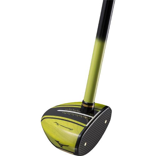 ミズノ MIZUNO パークゴルフクラブ メンズ レディース MS-305 右打用 ライム C3JLP913 39