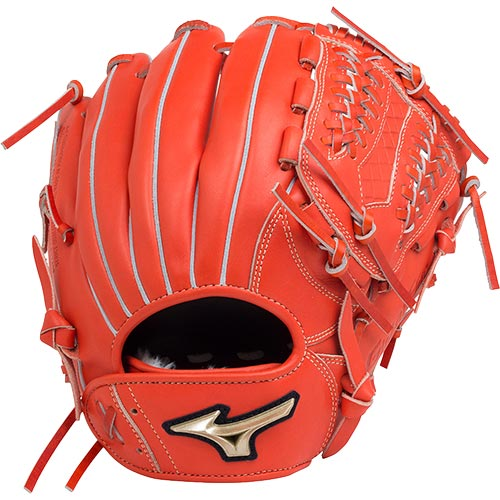 ミズノ MIZUNO 野球 軟式用グローブ グローバルエリート UMiX サイズ9 スプレンディッドオレンジ 1AJGR18430 52