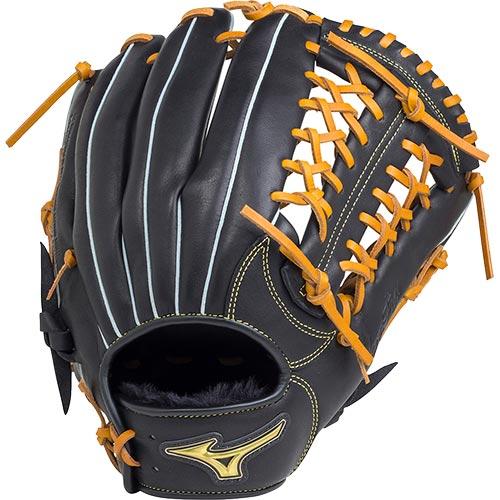 ミズノ MIZUNO 野球 軟式用グローブ ベリフニ サイズ12 ブラック×コルク 1AJGR18820 0949