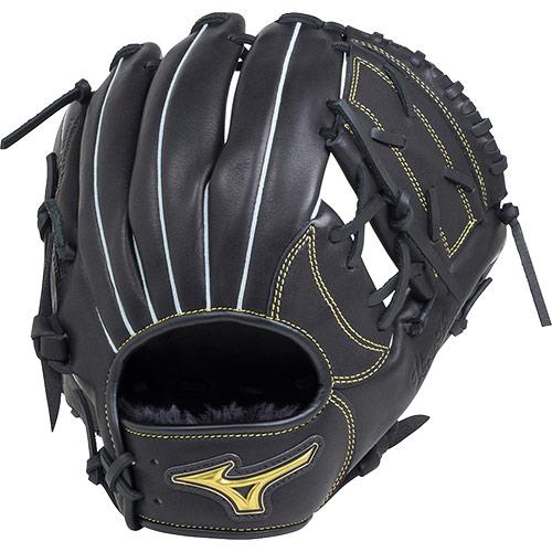 ミズノ MIZUNO 野球 少年軟式用 ブローブ ベリフニ Sサイズ ブラック 1AJGY18810 09