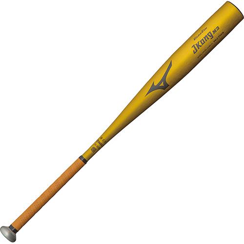ミズノ MIZUNO 野球 硬式用バット グローバルエリート JコングM3 金属製/84cm/900g以上 ゴールド 1CJMH11584 50
