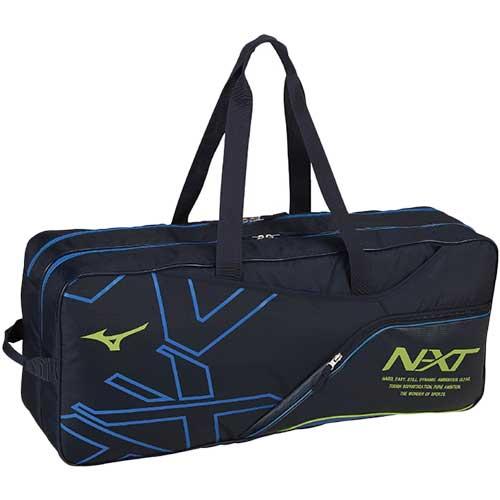 ミズノ MIZUNO テニス NXT3WAYトーナメントバッグ ネイビー×サックス 63JD9006 82