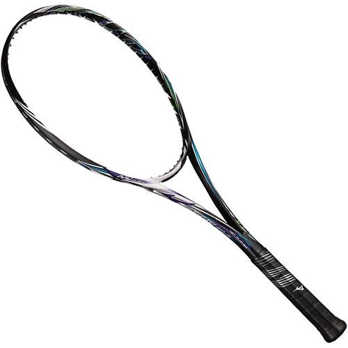 ミズノ MIZUNO ソフトテニスラケット スカッド01-C ハイブリッドブラック×ブルーパープル 63JTN854 67