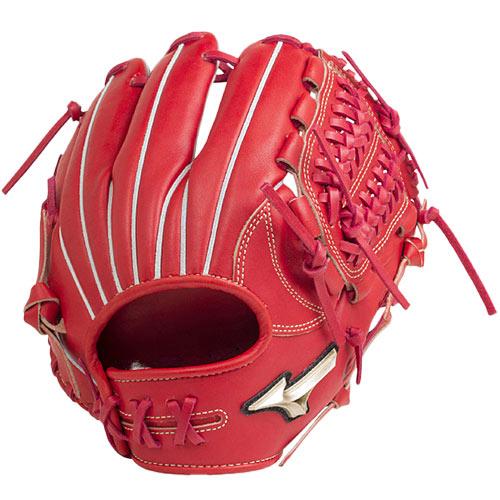 ミズノ MIZUNO 野球グローブ 硬式用 グローバルエリート H Selection00 内野手用 サイズ8 ラディッシュ 右投げ用 1AJGH20503 70