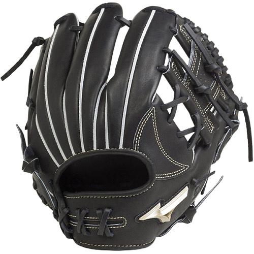 ミズノ MIZUNO 野球グローブ 硬式用 グローバルエリート H Selection00 内野手用 サイズ9 ブラック 右投げ用 1AJGH20513 09