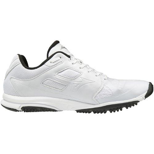 ミズノ MIZUNO メンズ 野球 トレーニングシューズ ユーティリティトレーナー UTILITY TRAINER ホワイト×ホワイト 11GT1920 01