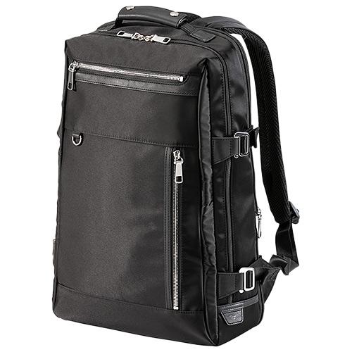 ミズノ MIZUNO グラブ革バックパック 拡張型 ブラック B3JM9011 09