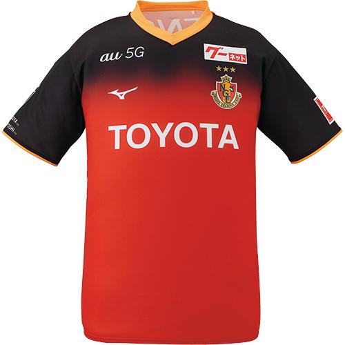ミズノ MIZUNO メンズ レディース 2020 名古屋グランパス レプリカゲームシャツ ホーム レッド P2JA0Y28 09