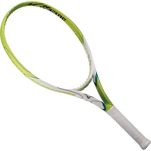 ミズノ MIZUNO 硬式 テニスラケット F SPEED ライム サイズ2 63JTH074 37