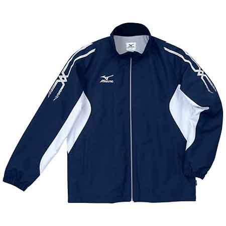 ミズノ MIZUNO ブレスサーモ ウォーマーシャツ A60JF25514 ネイビー×ホワイト